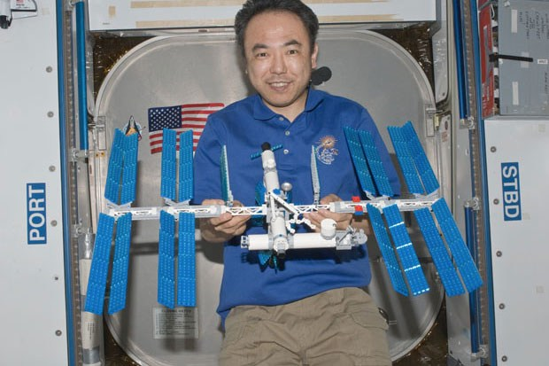 Lego international space station built aboard real iss for When was the international space station built