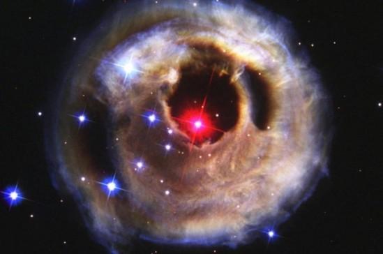stellar explosion time lapse