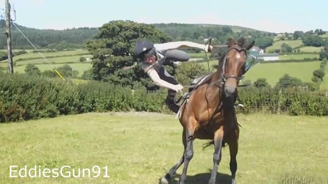 Image form Horse Falls Compilation - Epic Equestrian Falls and Fails - Best Bad Horse ... youtube.com